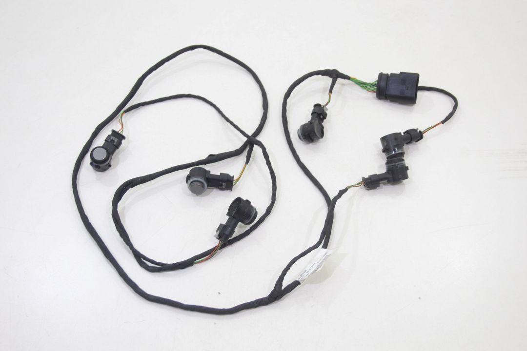 VW Golf 7 Kabelbaum mit 6 PDC Sensoren 5G0971095 LD7R Frontstoßstange 5Q0919279A