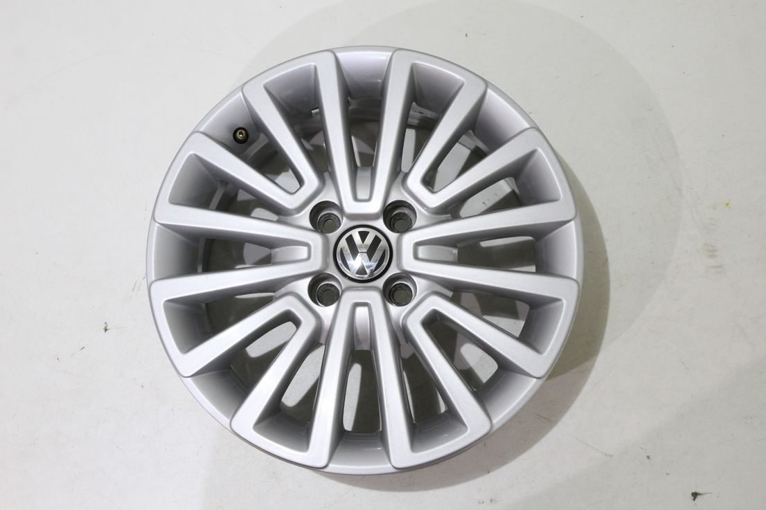 Original VW Seat Skoda 15 Zoll Einzelfelge Alufelge 5U0601025AB Felge