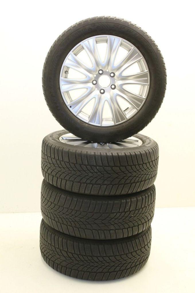 Mercedes-Benz S-Klasse W222 A2224010902 18 Zoll Alufelgen Winterräder Dunlop