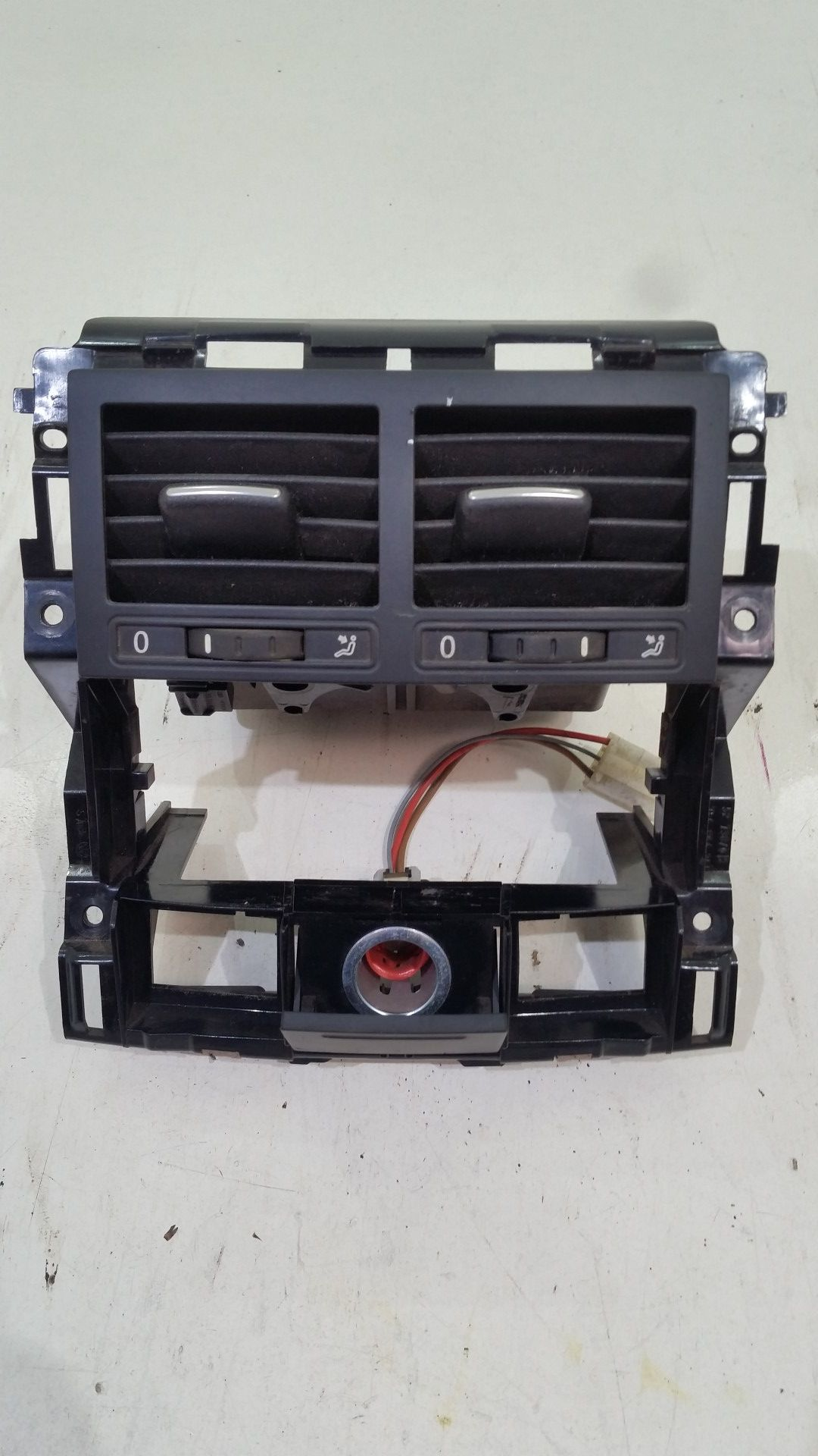 VW Touareg 7L Lüftungsdüsen Luftdüsen Lüftungsgitter Luft 7L6819203C Ausströmer