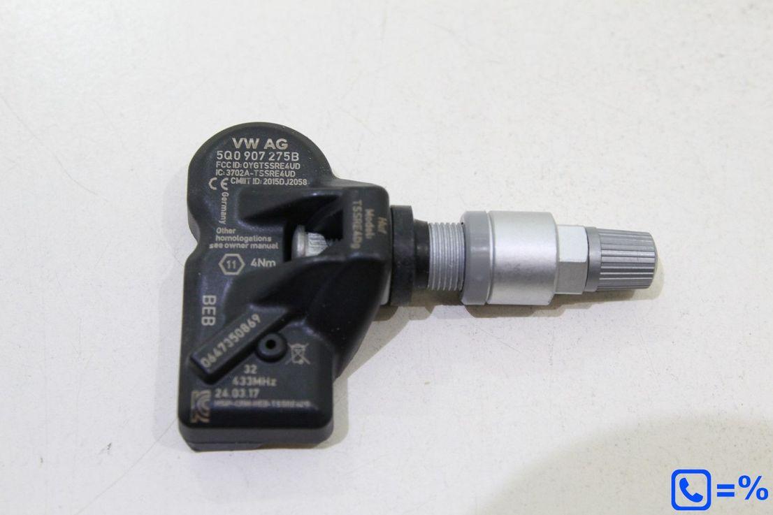 1x Orig Audi Q1 Reifendrucksensor Luftdruck RDK Sensor 5Q0907275B NEU
