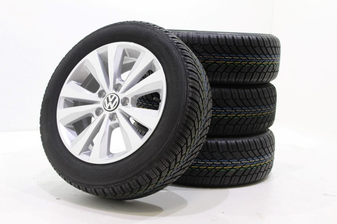 VW Golf 7 5G0 Winterräder 205 55 16 Zoll Alufelgen Toronto Felgen 5G0601025M 871