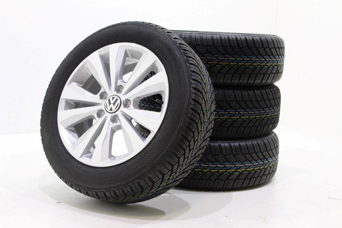 VW Golf 7 5G0 Winterräder 205 55 16 Zoll Alufelgen Toronto Felgen 5G0601025M 933