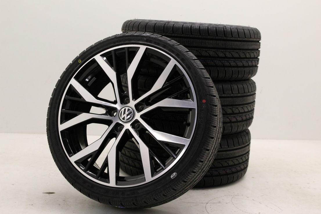 VW Golf 7 GTI Winterräder 225 35 19 Zoll Santiago 5G0601025AN Alufelgen 966