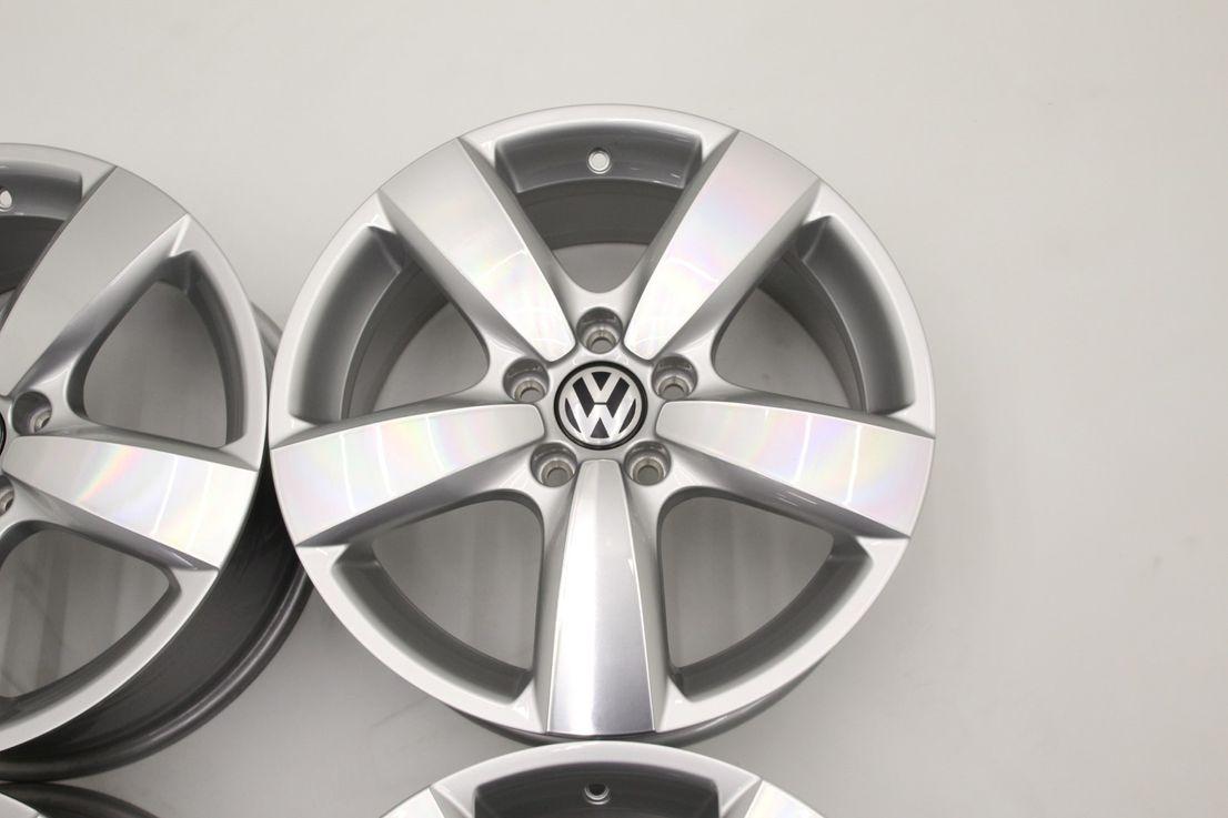Original VW Tiguan Felgen Boston Felgensatz 5N0601025AS 17 Zoll Alufelgen