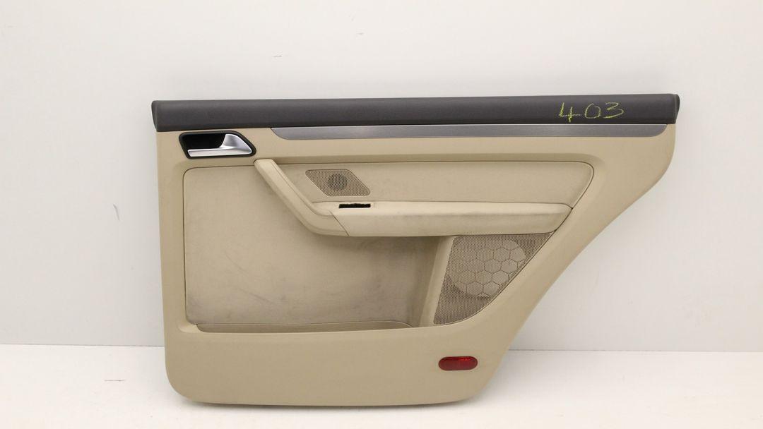 VW Touran 1T Türverkleidung Tür hinten rechts Stoff beige Verkleidung TVK
