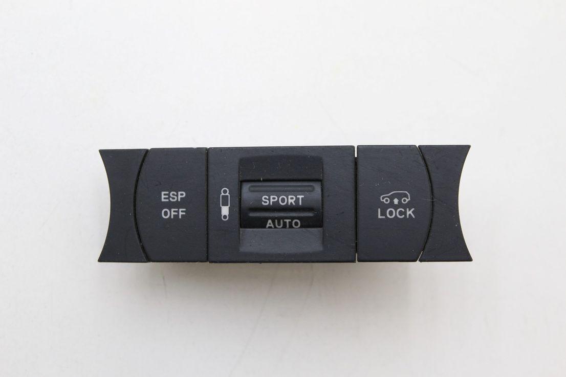 VW Touareg 7L Schalter ESP OFF Lock Fahrwerkverstellung Bedienteil 7L6927225E
