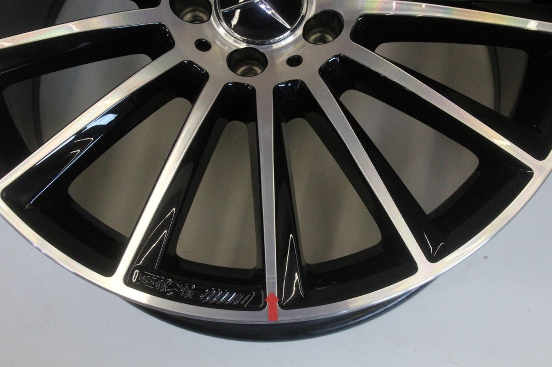 Mercedes Benz CLS W218 AMG Alufelge 19 Zoll Einzelfelge A2184011200 Felge
