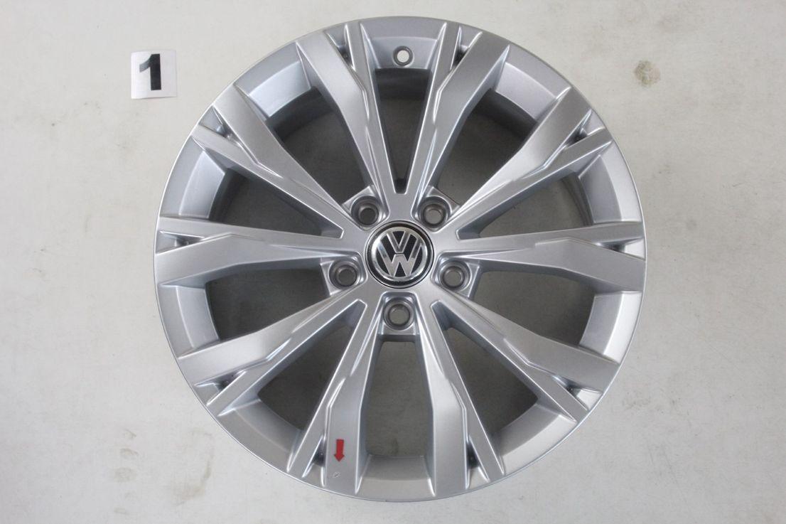 5NA601025 VW Tiguan 2 5NA Felgen 17 Zoll Alufelgen Montana Felgensatz