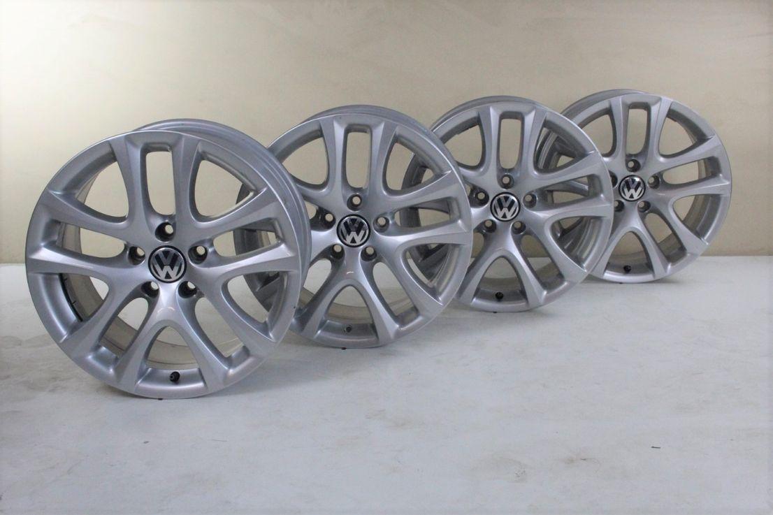 VW Scirocco 1K8 Felgen 17 Zoll Alufelgen Donington Felgensatz 1K8601025B
