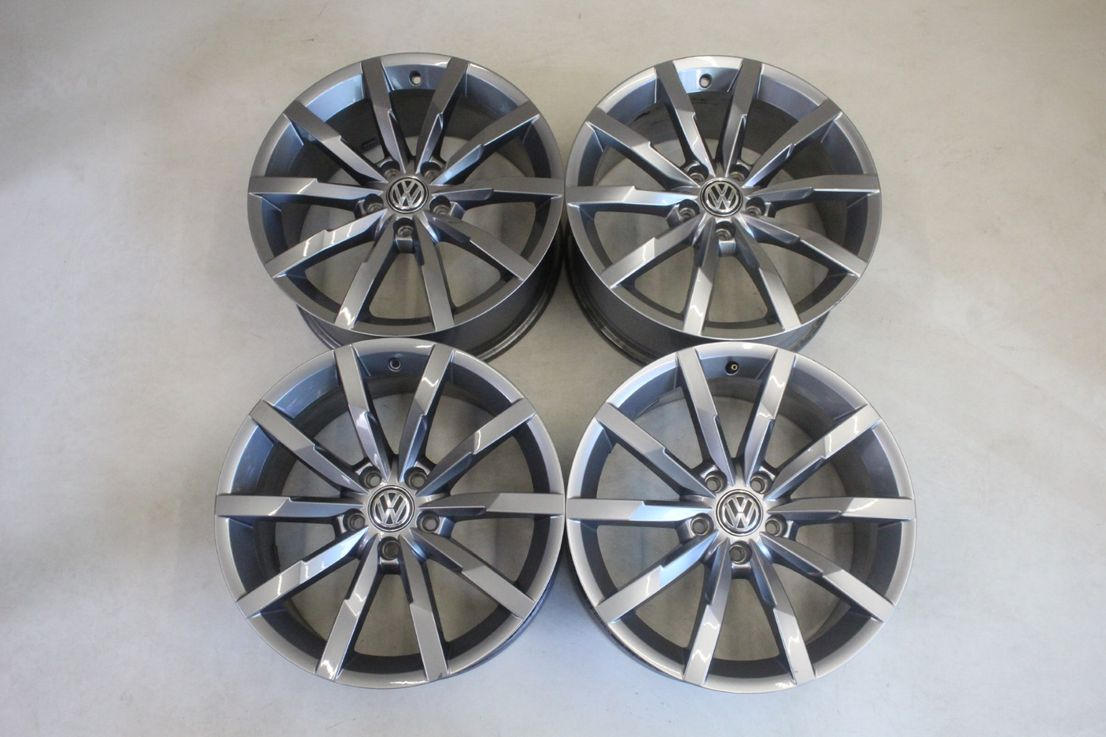 [Paket] VW Passat 3G B8 Winterräder Alufelgen 235 45 18 Zoll Felgen Monterey 3G0601025Q