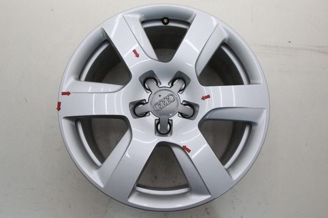 Audi A8 4H0601025BN 4H  Alufelge 17 Zoll Einzelfelge Felge