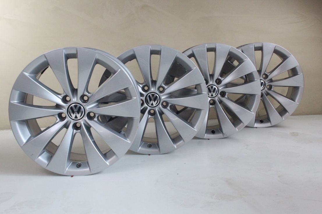 [Paket] VW CC Scirocco Winterräder 235 45 17 Zoll Alufelgen Phoenix Felgen 3C8601025A