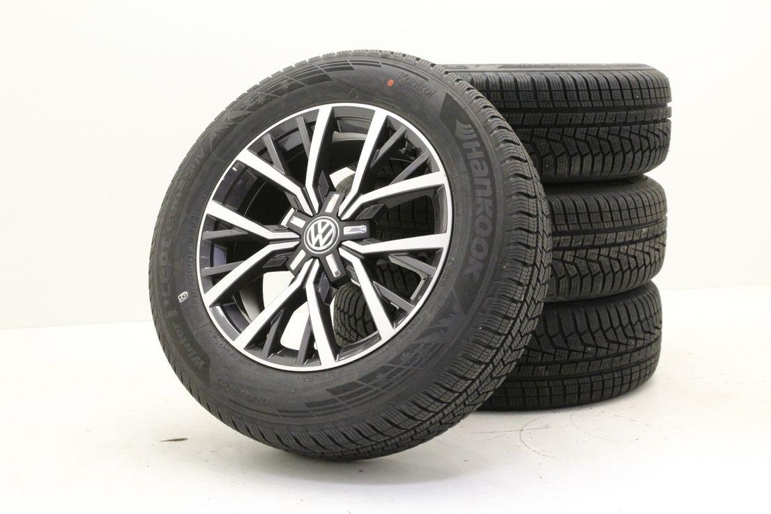 VW Tiguan 2 5NA Winterräder 215 65 17 Zoll Alufelgen Tulsa Felgen 5NA601025AA
