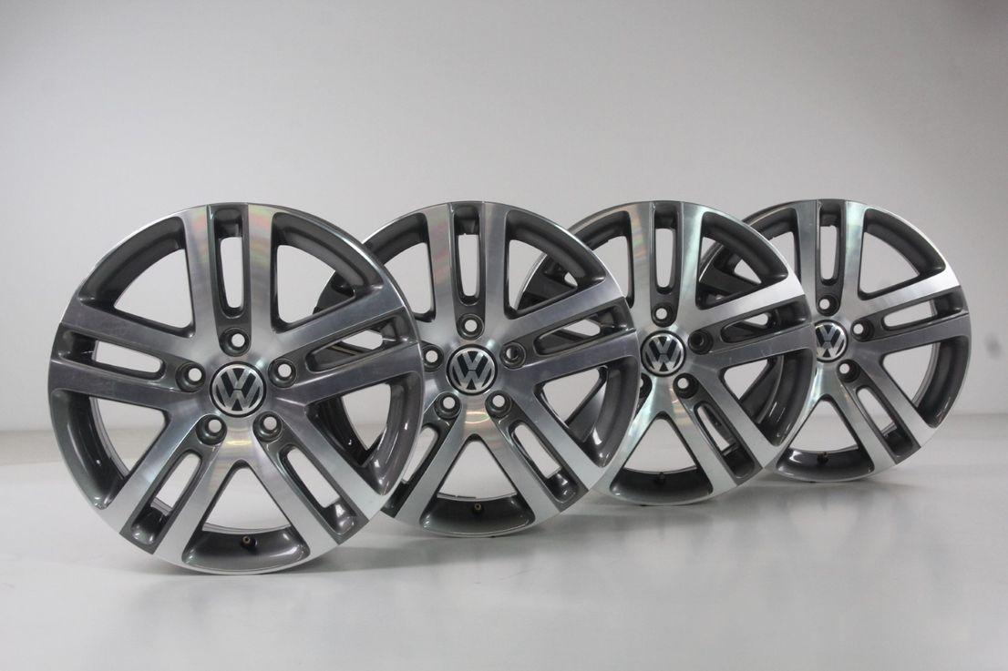 VW Golf 5 1K 6 5K Alufelgen 16 Zoll Felgen Atlanta Felgensatz 1K0601025BM