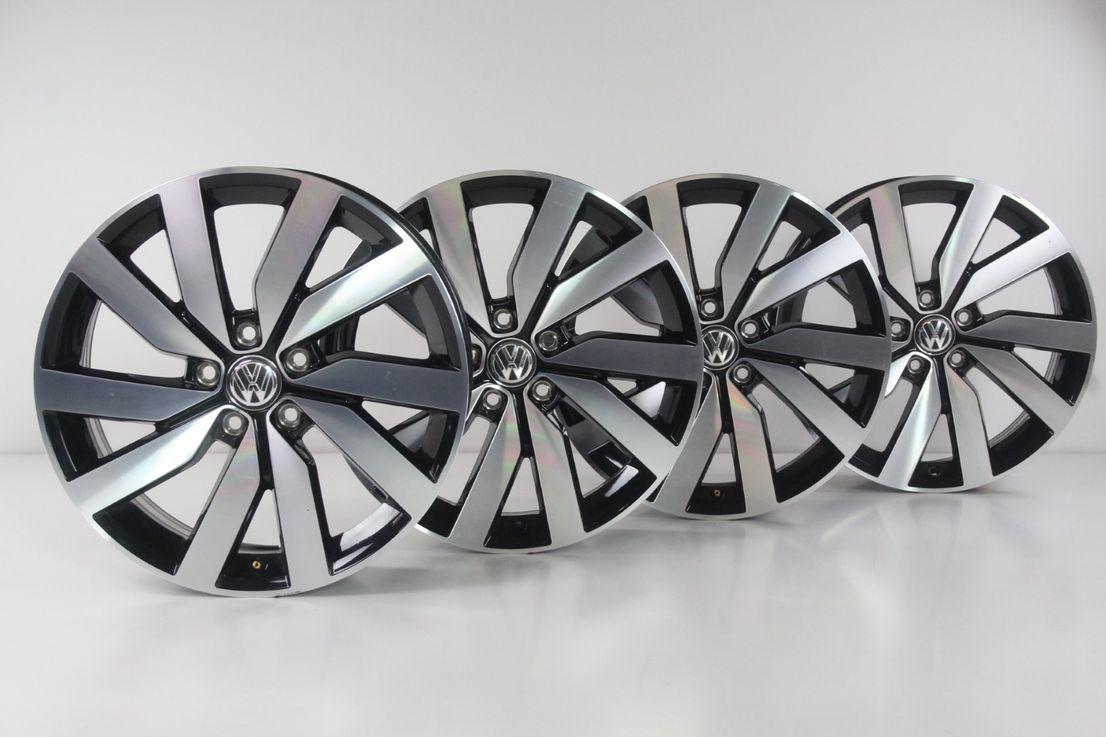 [Paket] VW Touran 5T Winterräder 225 45 18 Zoll Marseille Alufelgen Felgen 5TA601025F