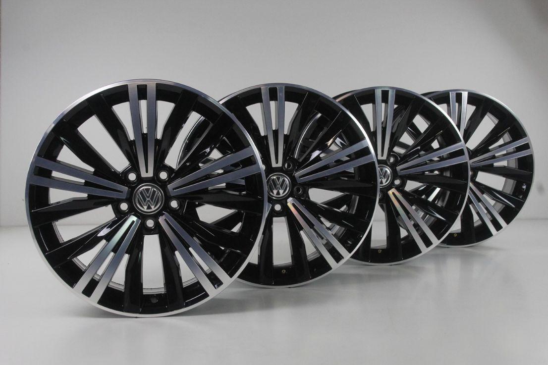 [Paket] VW Tiguan 2 5NA Alufelgen 5NA601025AB Nizza Sommerräder Felgen 235 55 18 Zoll