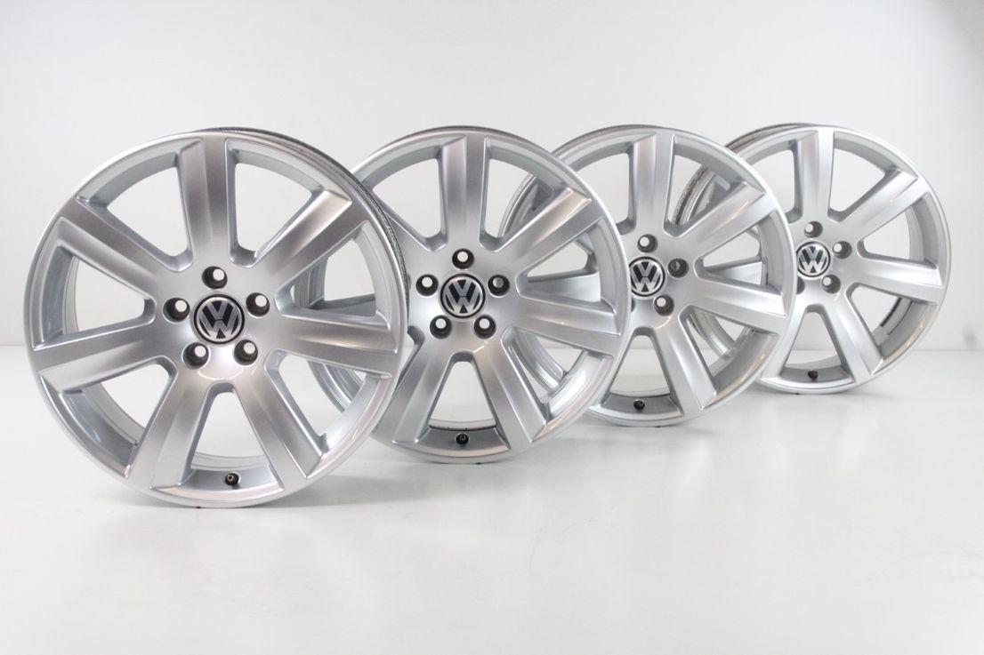 VW Phaeton 3D 18 Zoll Felgen Alufelgen Dynamic Felgensatz 3D0601025AM