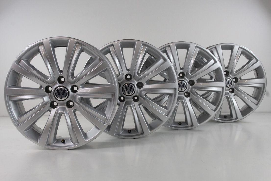 VW Amarok 2H Alufelgen Durban Felgen 18 Zoll silber 2H0601025F 2H0601025AH