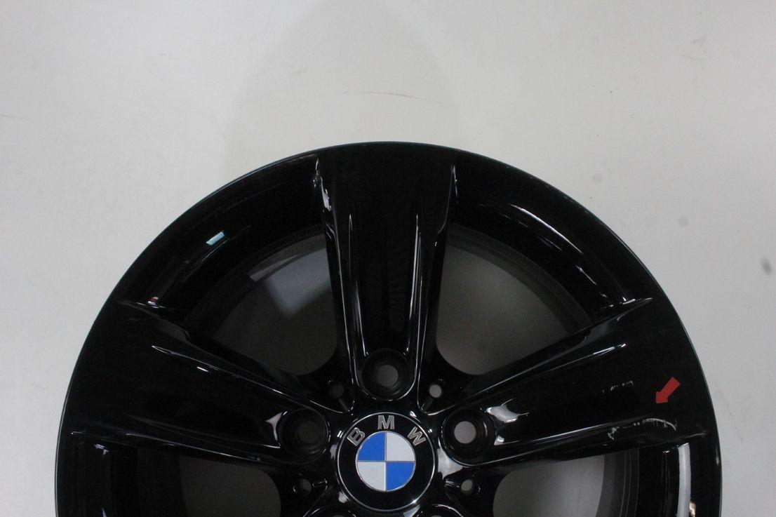 BMW 3er F30 F31 F35 4er F32 F33 F36 16 Zoll Felge Styling 391 schwarz 6796237