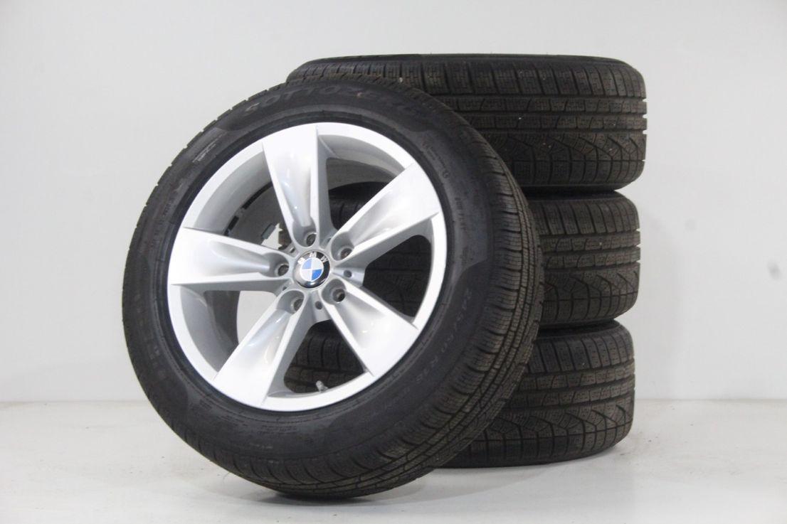BMW 5er E60 E61 Felgen 18 Zoll Alufelgen Styling 246 Winterräder Pirelli 6777761