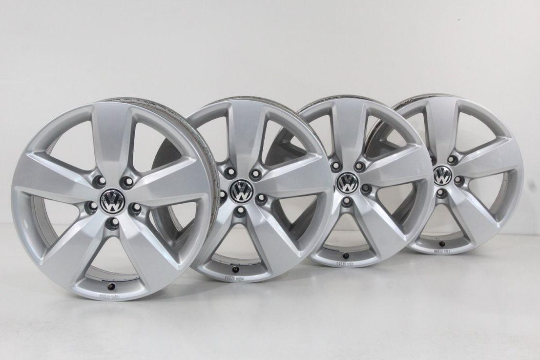 VW Amarok 2H Felgen Aragonit Alufelgen 19 Zoll Felgensatz 2H0071499