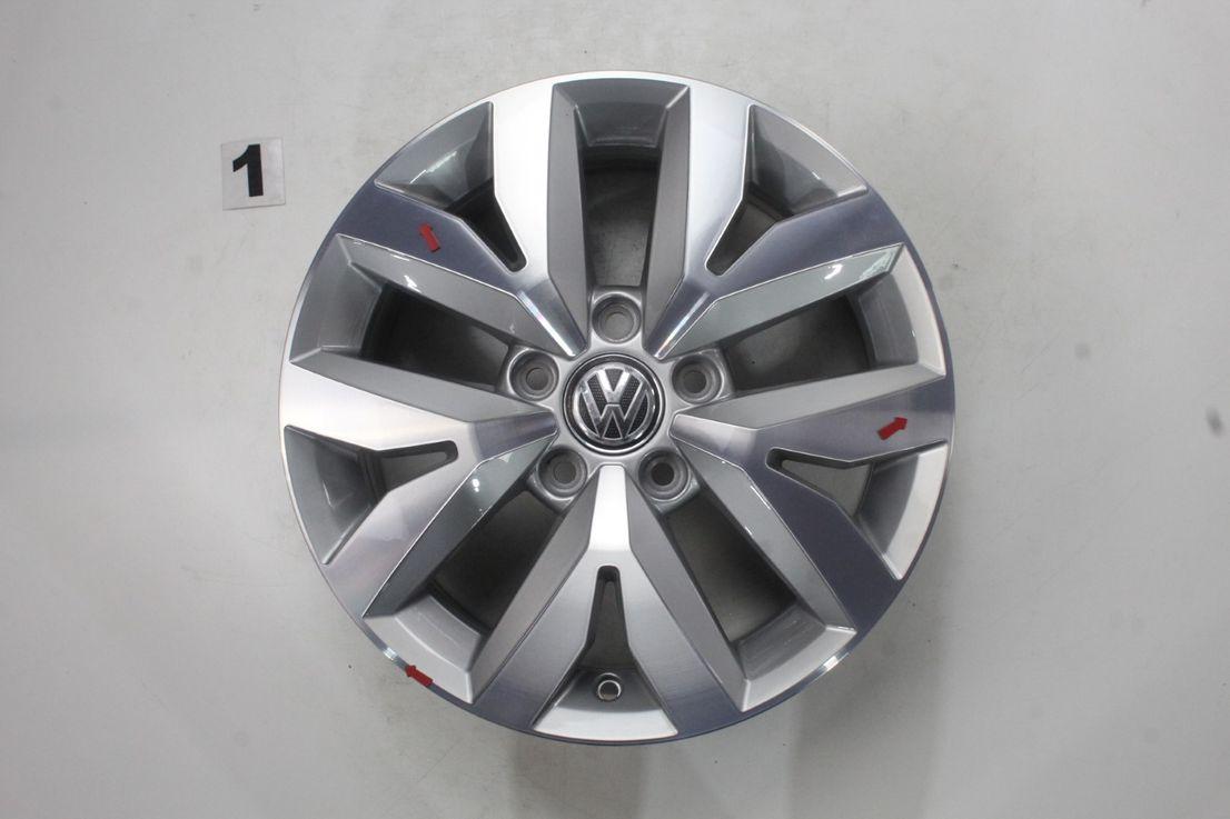[Paket] VW Touran 5T Winterräder Alufelgen Brighton silber 205 60 16 Zoll 5TA601025M