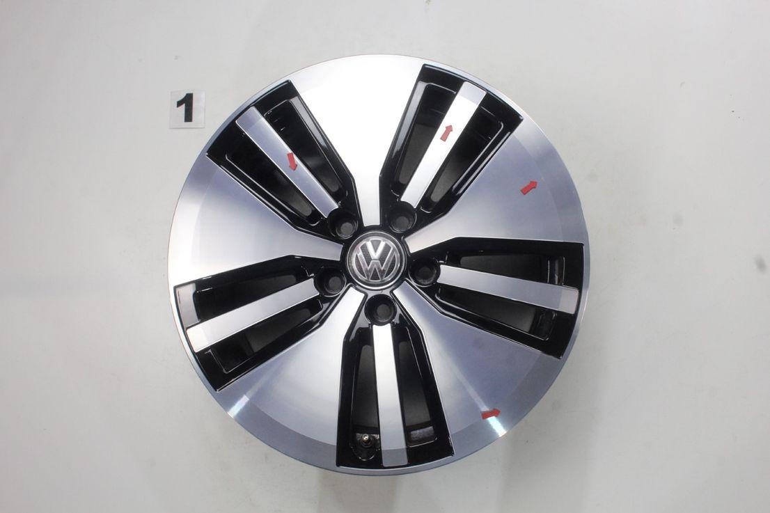 [Paket] VW Passat 3G B8 Allwetter Alufelgen Montpellier 215 55 17 Zoll 3G0601025AM