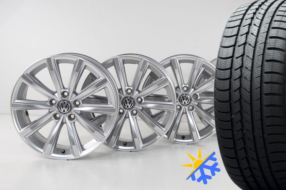 [Paket] VW Passat 3G B8 Allwetter Alufelgen London Felgen 215 55 17 Zoll 3G0601025D