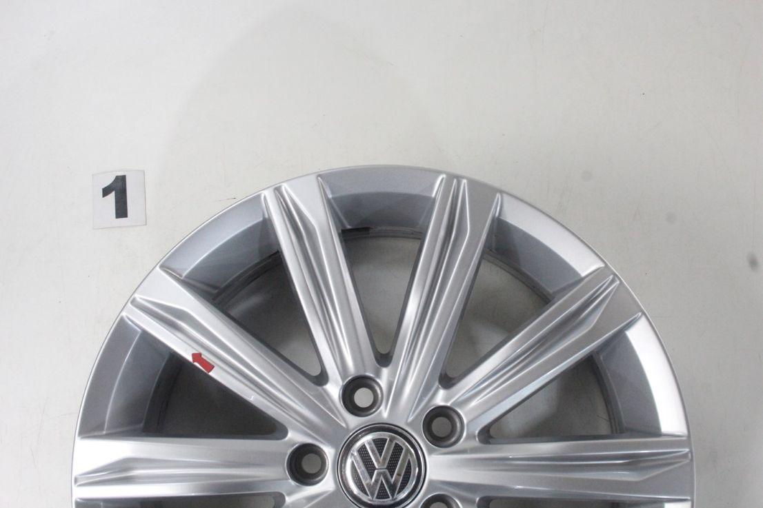 [Paket] VW Touran 5T Allwetter Alufelgen Stockholm Felgen 215 55 17 Zoll 5TA601025D