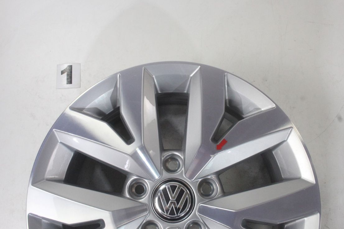 [Paket] VW Touran 5T Winterräder Alufelgen Brighton Felgen 205 60 16 Zoll 5TA601025M/A