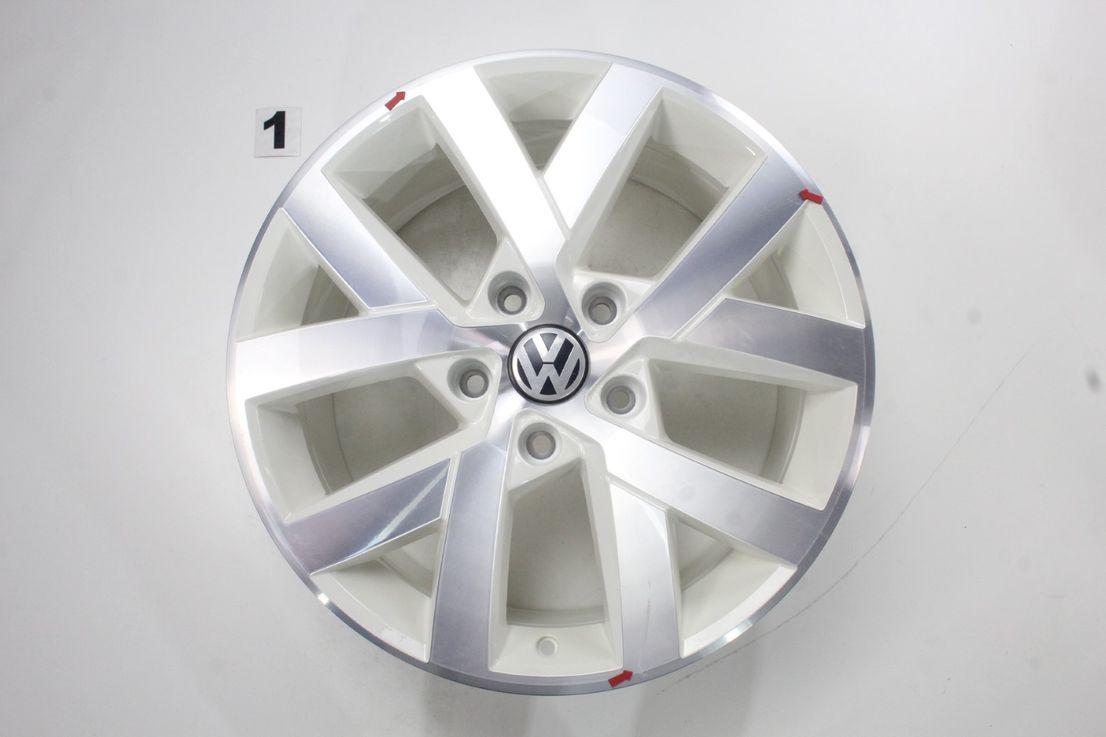 [Paket] VW Touareg II 7P Winterräder Alufelgen Moab weiß 265 50 19 Zoll 7P6601025AJ