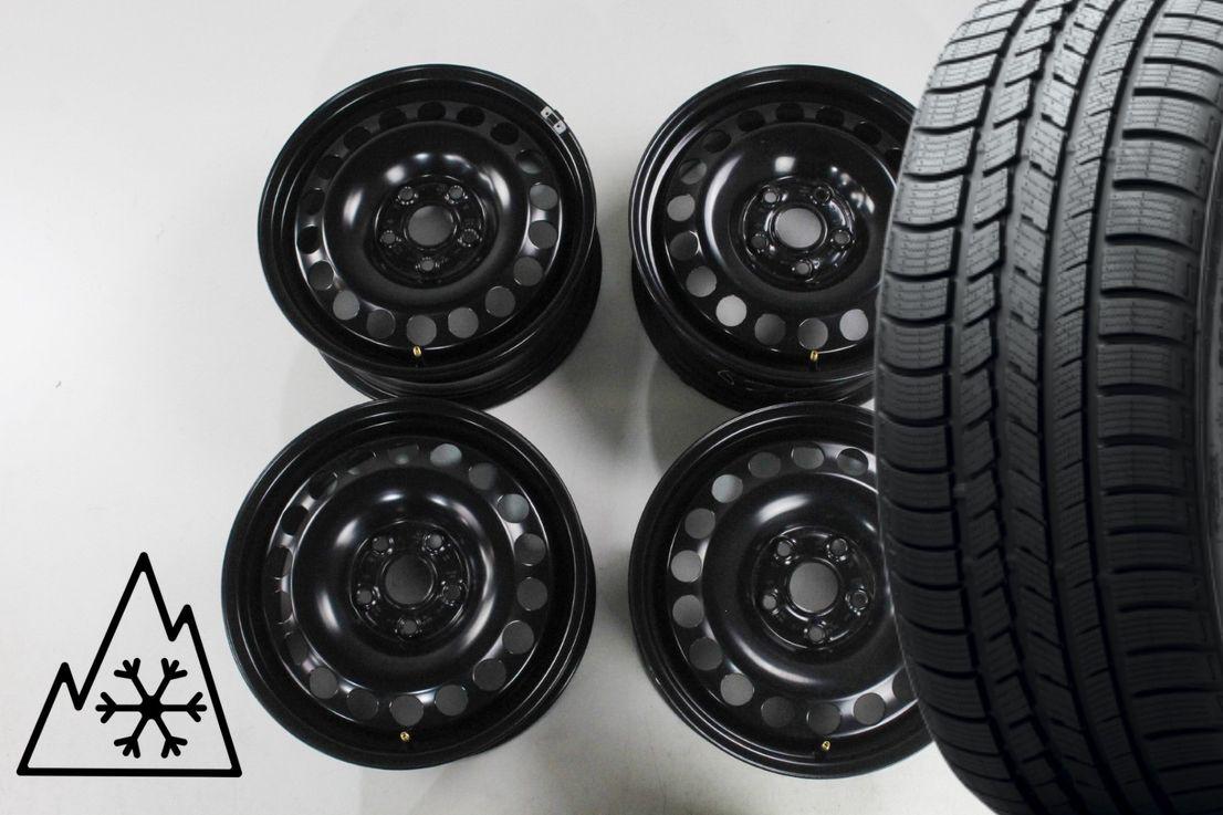 [Paket] VW Touran 5T Winterräder Stahlfelgen Felgen 205 60 16 Zoll 5QA601027A
