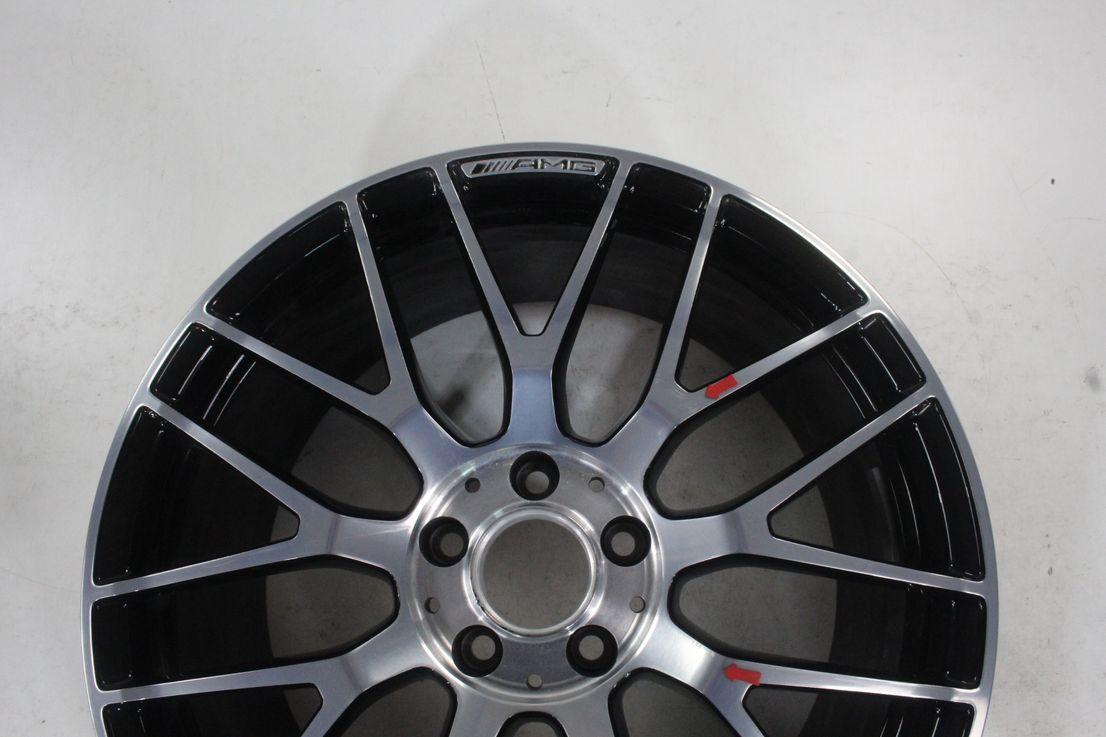 Mercedes Benz AMG GT GTS C190 19 Zoll Felge schwarz Einzelfelge A1904010700