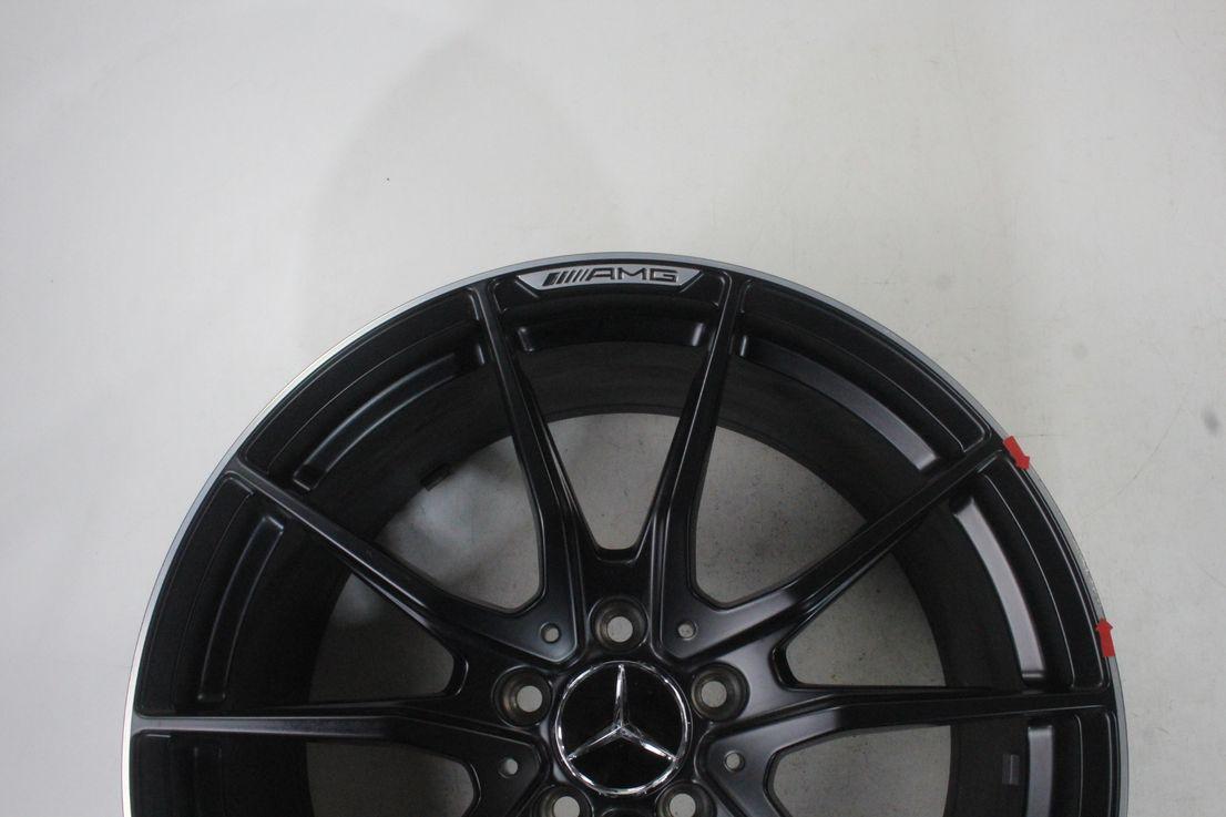 Mercedes Benz AMG GTR R190 19 Zoll Felge schwarz Einzelfelge A1904011300