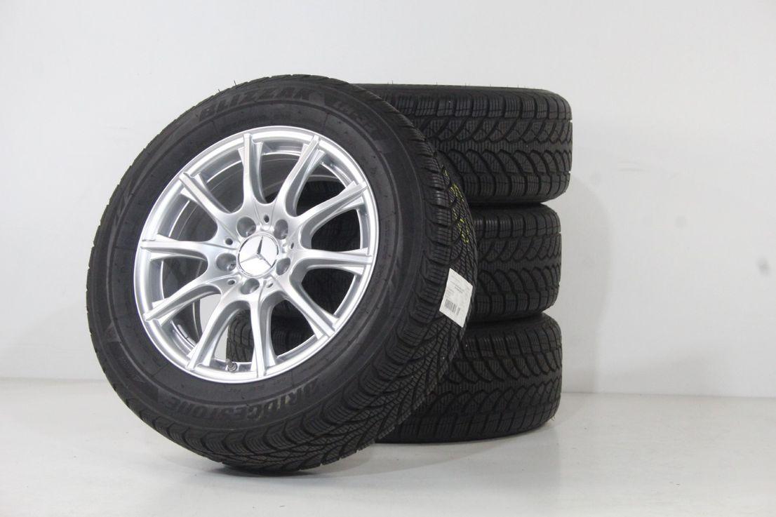 Mercedes Benz C-Klasse W205 S205 Alufelgen 16 Zoll Winterräder A2054012400