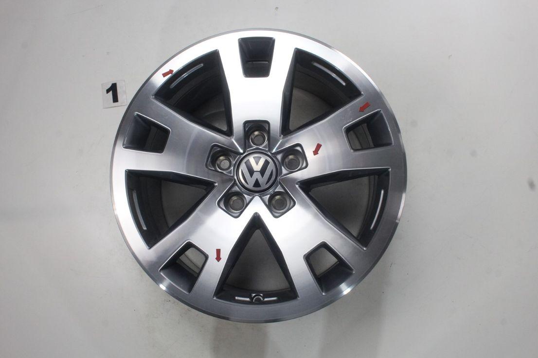 [Paket] VW Amarok 2H Winterräder Albany Alufelgen 245 65 17 Zoll Felgensatz 2H0601025AF