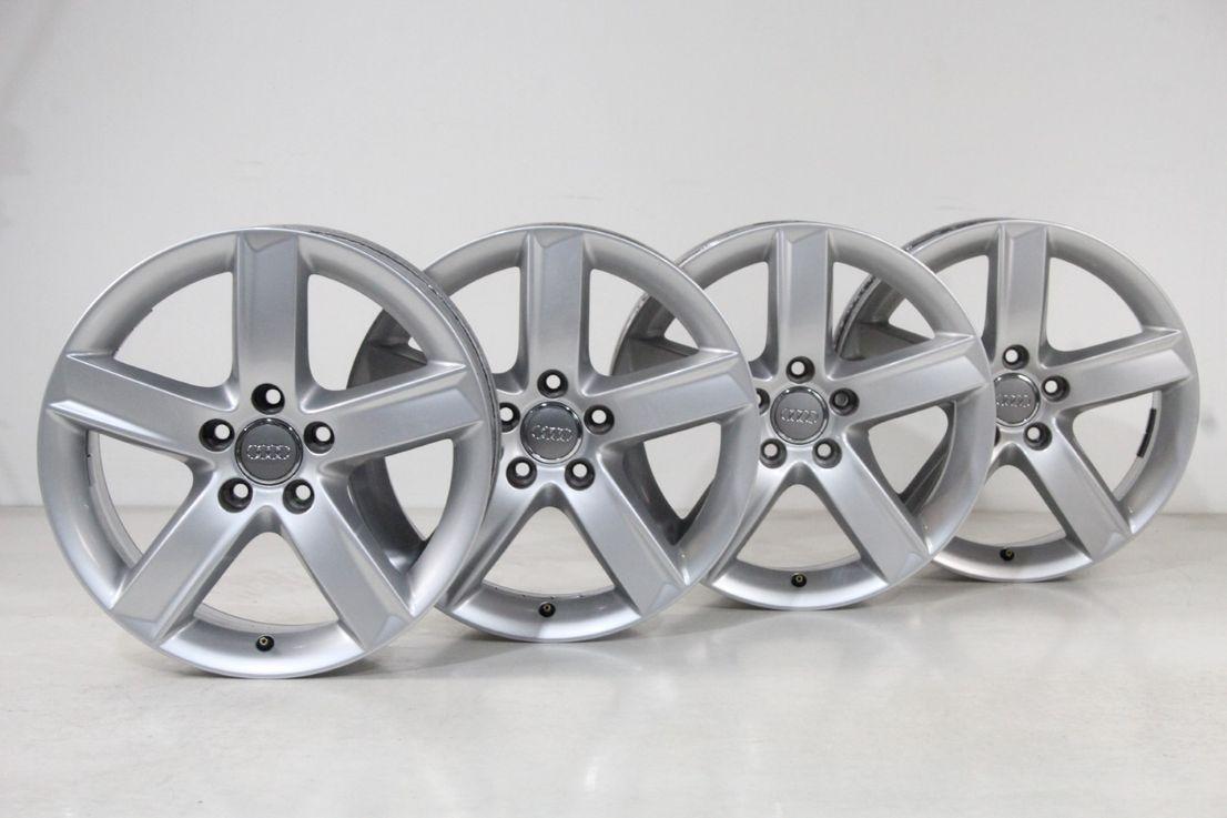 Audi Q5 8R Felgen 17 Zoll Alufelgen Felgensatz 8R0071497