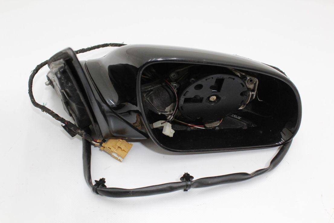 Audi A8 Außenspiegel Schwarz Uni Spiegel Beifahrerseite ohne Spiegelglas
