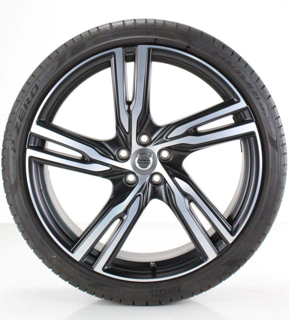 Volvo S90 V90 ll Sommerräder Pirelli 21 Zoll Alufelgen R-Design Felgen 31423961