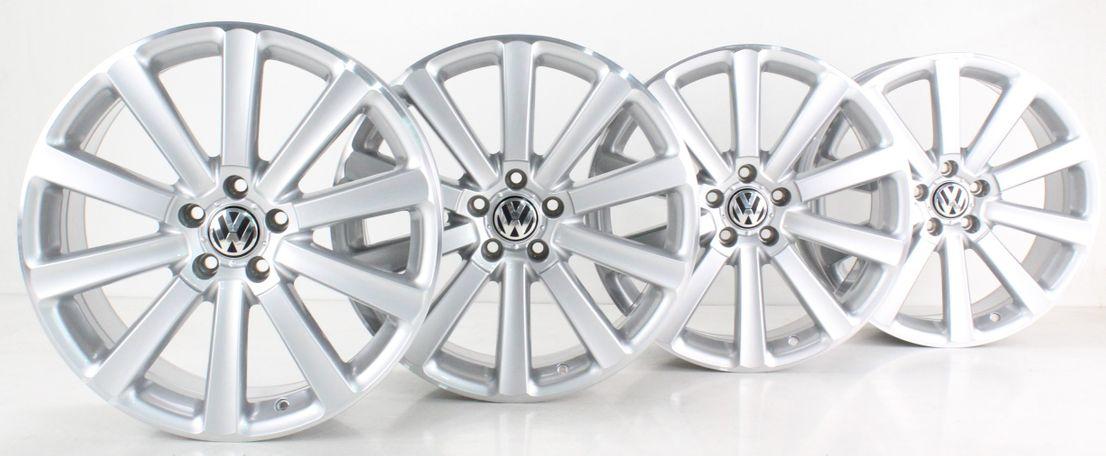 VW Passat 3C Alufelgen 19 Zoll Felgensatz Omanyt Felgen 3C0601025AM