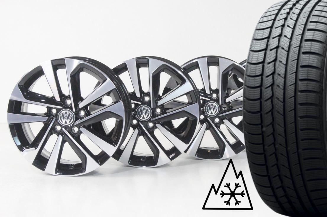 [Paket] VW Tiguan ll AD1 & Allspace Winterräder Dublin 215 65 17 Zoll Felgen 5NA601025AC