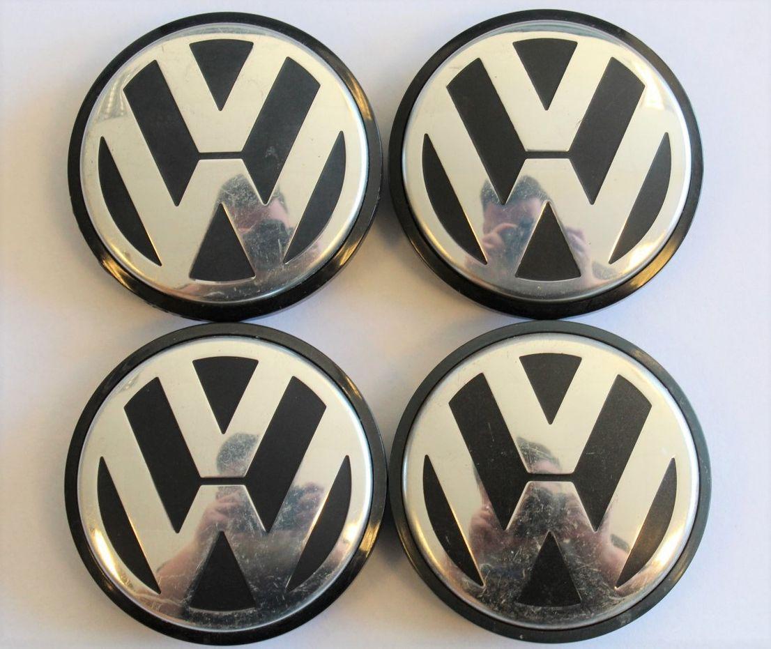 4x VW Golf 4 Bora Polo Nabendeckel Felgendeckel Nabenkappen VW-Deckel 1J0601171