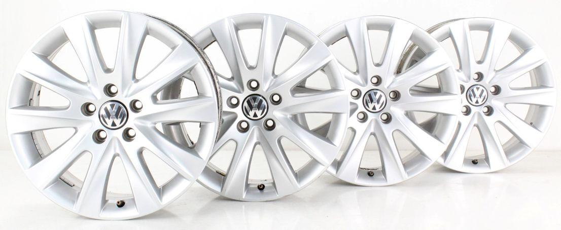 VW Tiguan I 5N Alufelgen Los Angeles Felgen 17 Zoll Felgensatz 5N0601025B