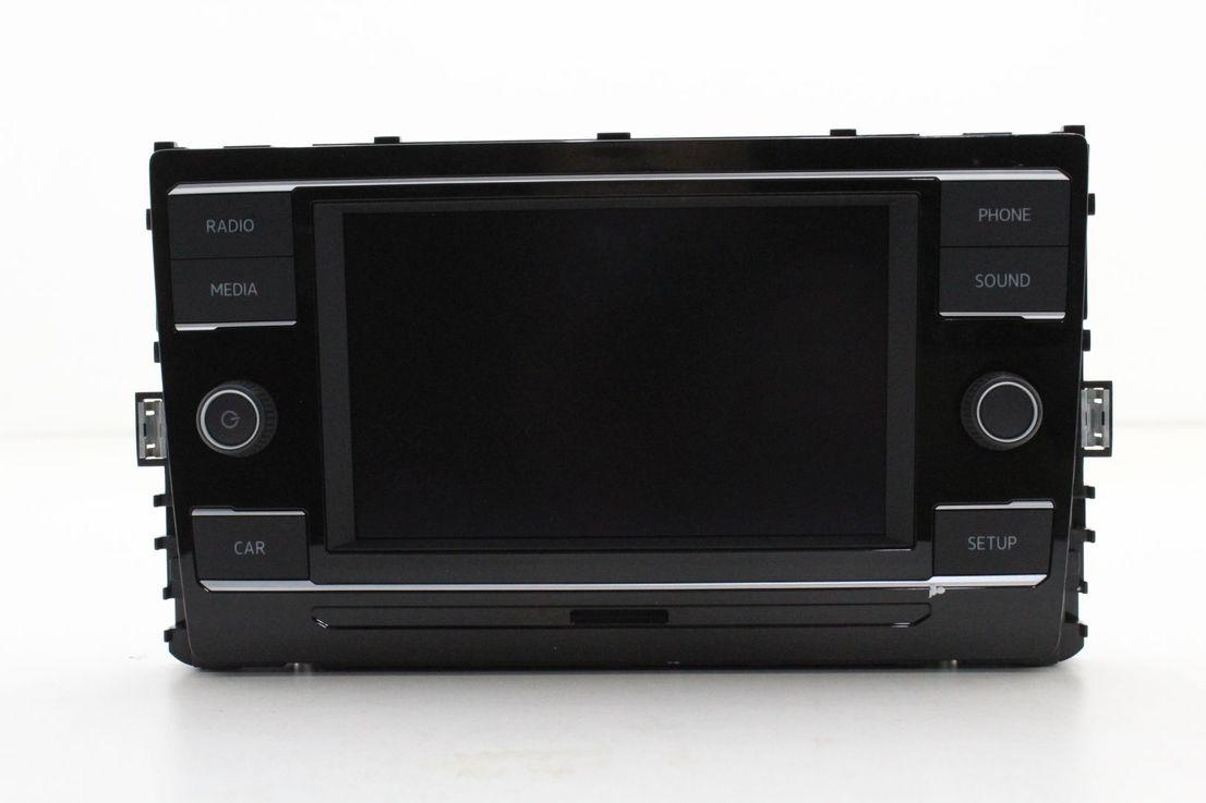 VW Golf 7 Bedieneinheit Radio Composition Colour MIB2 Bluetooth 5G6035869B
