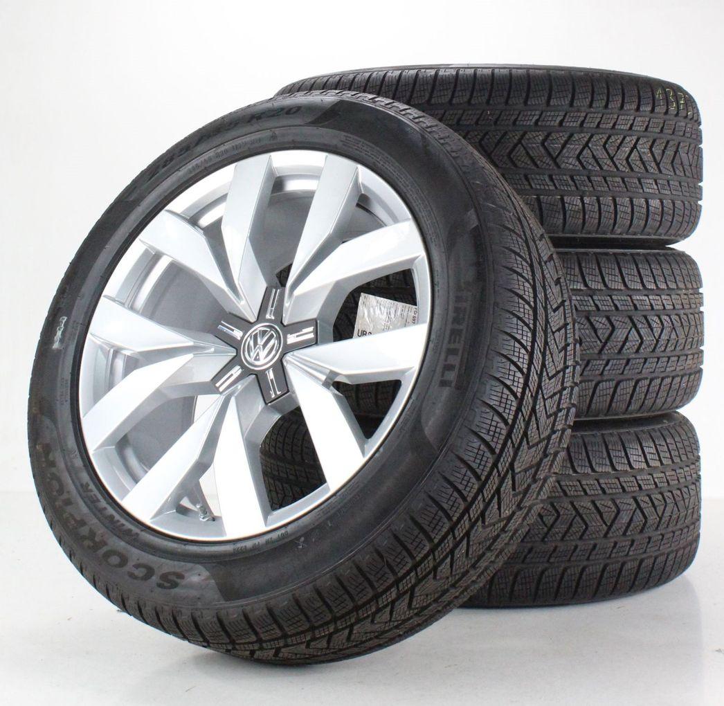 VW Touareg 3 III CR Winterräder 20 Zoll Felgen Montero Alufelgen 760601025C
