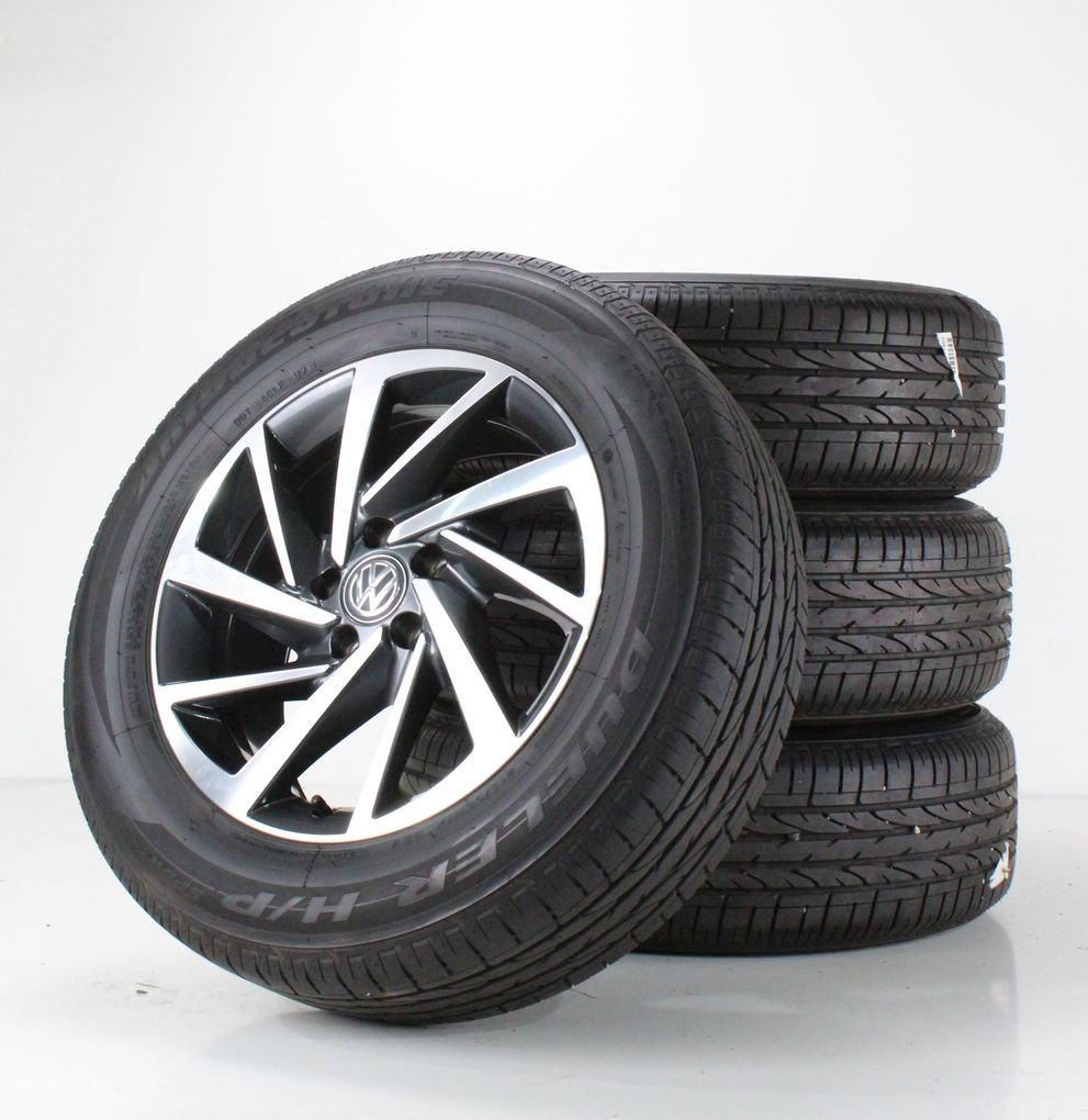 VW Tiguan ll AD1 & Allspace Sommerräder Alufelgen 17 Zoll Woodstock 5NA601025P