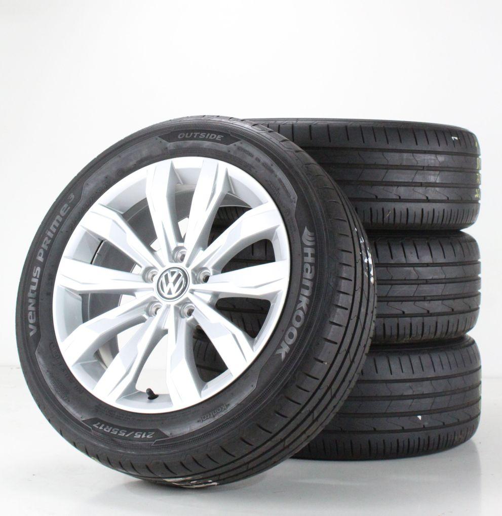 VW T-Roc A1 Sommerräder Alufelgen Kulmbach silber 17 Zoll Felgen 2GA601025A