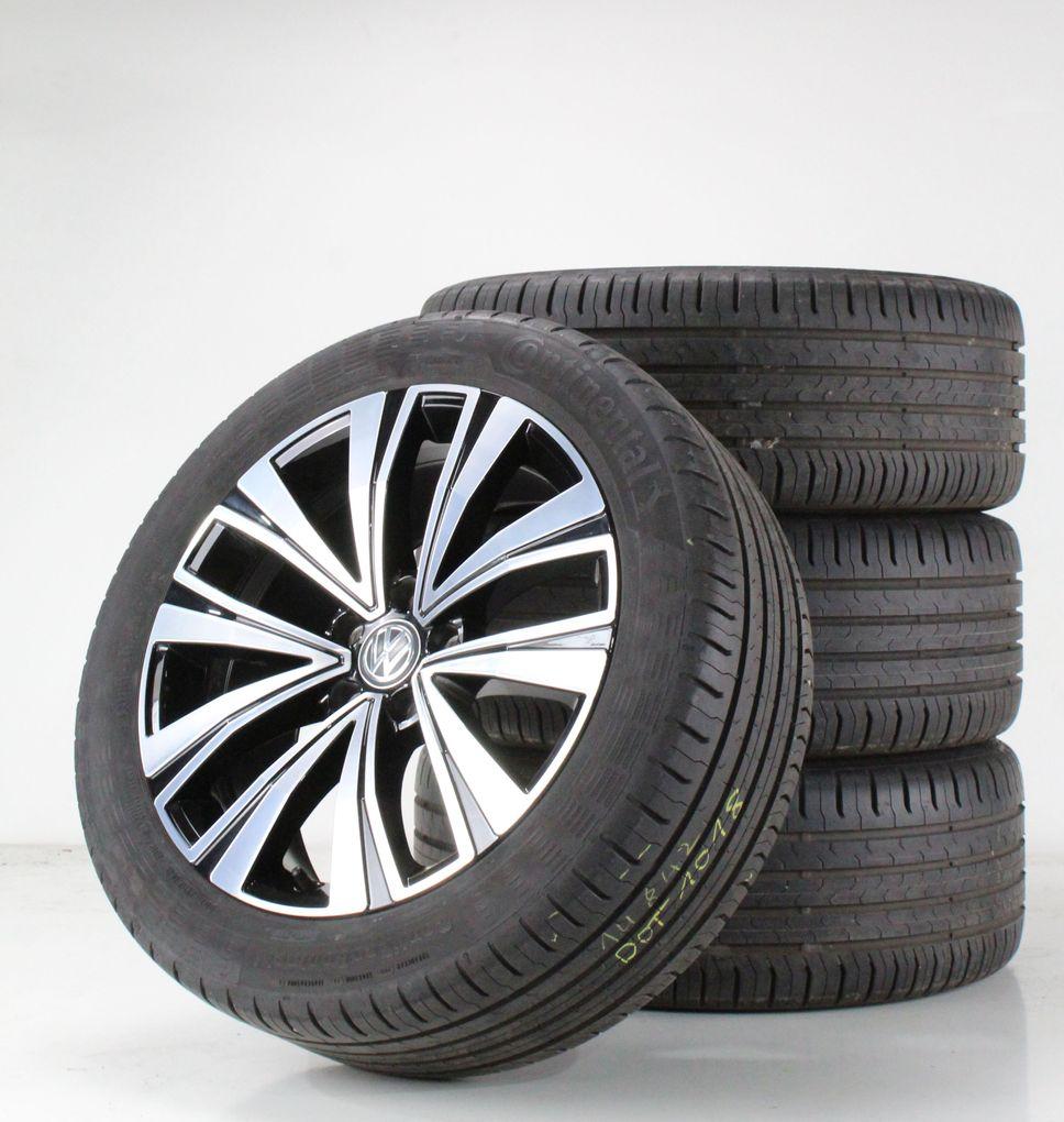 VW Arteon 3H Sommerräder 18 Zoll Alufelgen Muscat schwarz Felgen 3G8601025F