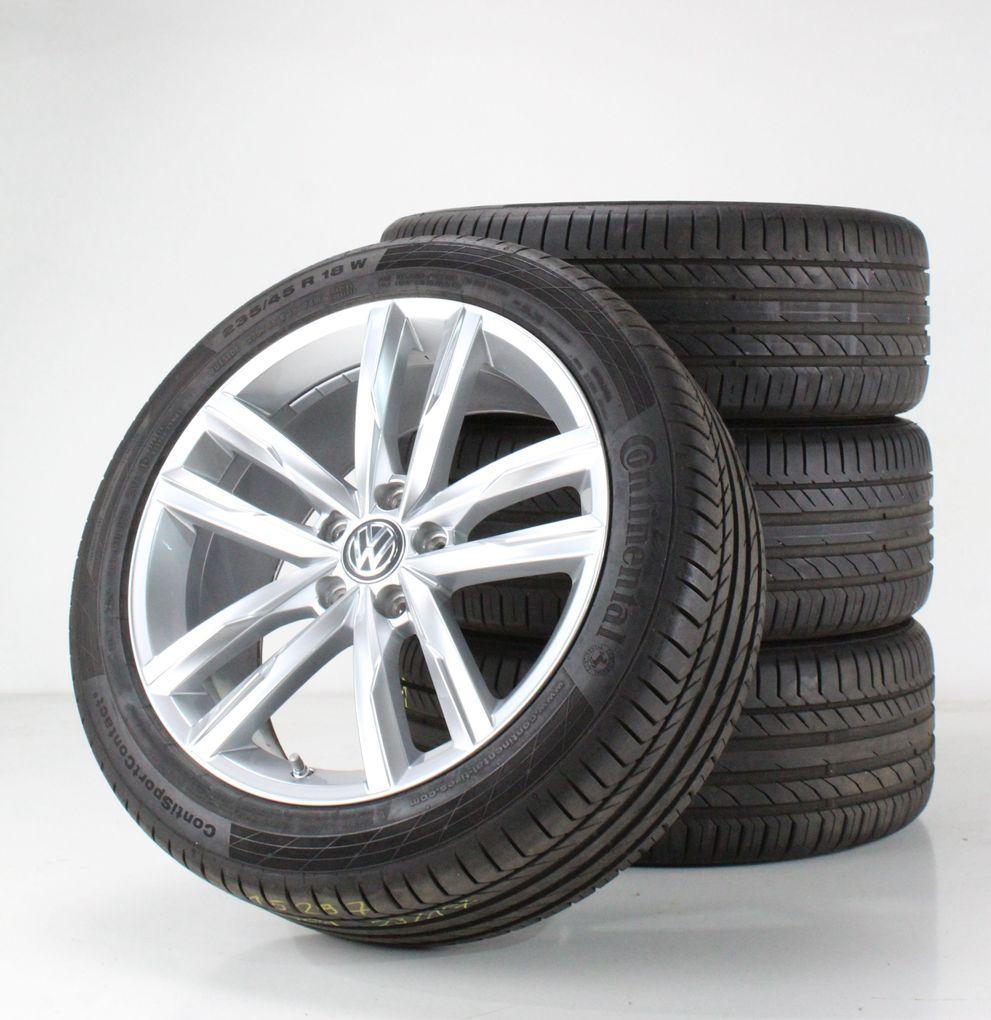 VW Passat 3G B8 Sommerräder 18 Zoll Alufelgen Dartford silber Felgen 3G0601025H